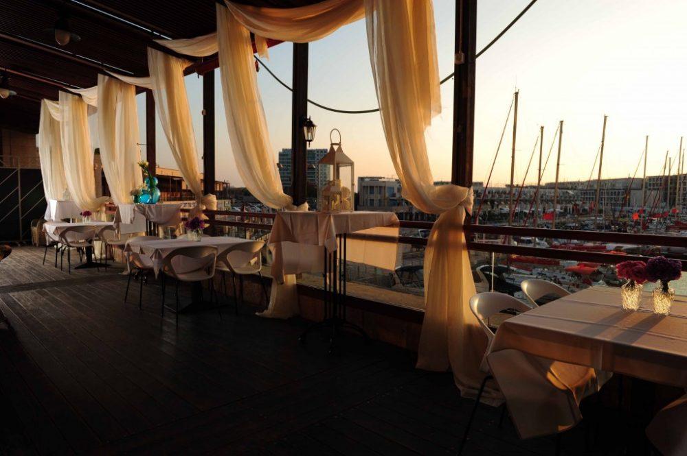 מסעדה לאירועים מול הים