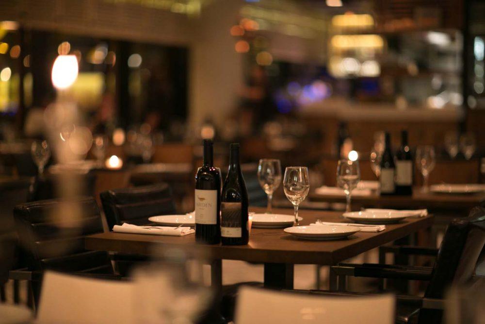מסעדה בשרית עם חדר פרטי