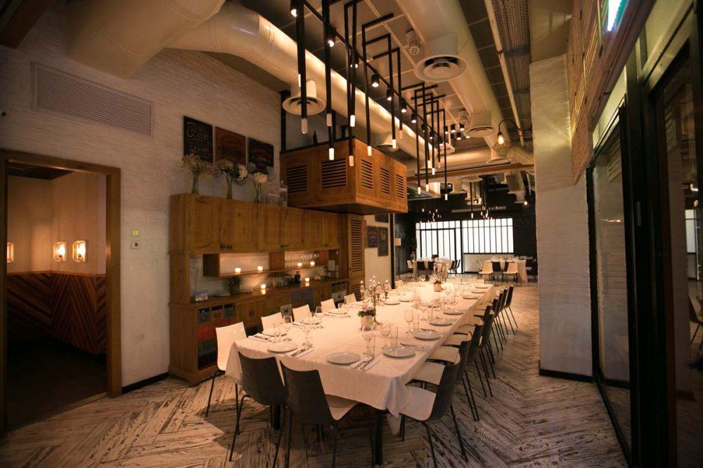 חדר פרטי במסעדה בהרצליה
